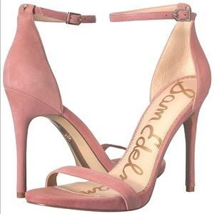 Sam Edelman 7.5 Ariella heels light misty rose